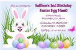 Personalised Easter Party or Egg Hung Invitations 4